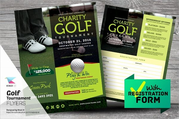 Golf tournament Brochure Template Fresh Golf tournament Flyer Template 24 Download In Vector Eps Psd