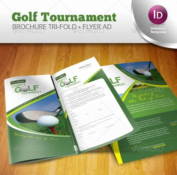 Golf tournament Brochure Template Inspirational 14 Creative 3 Fold Shop Indesign Brochure Templates Brochure Inspiration
