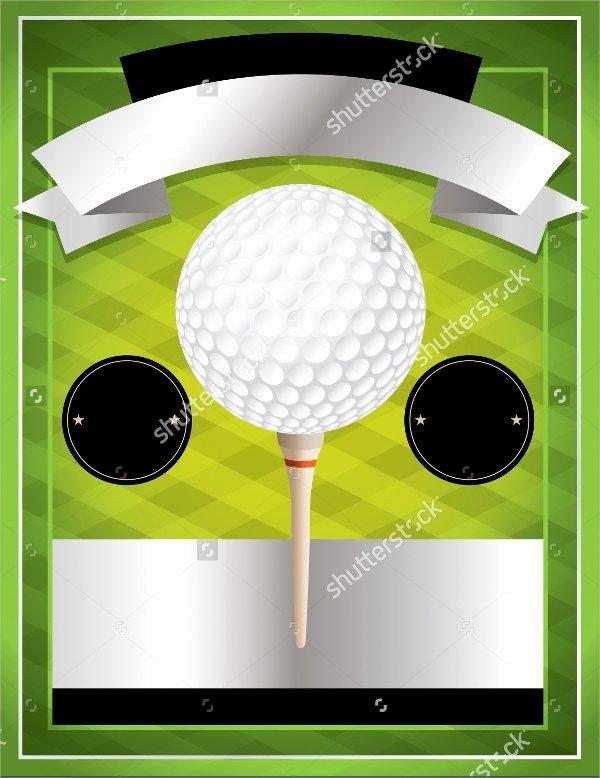 Golf tournament Flyer Template Inspirational Golf tournament Flyer Template 24 Download In Vector Eps Psd