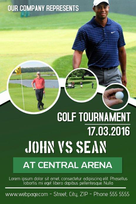 Golf tournament Flyer Templates New Copy Of Golf tournament Flyer Template