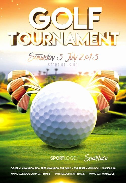 Golf tournament Flyer Templates Unique 29 Best Images About Golf On Pinterest