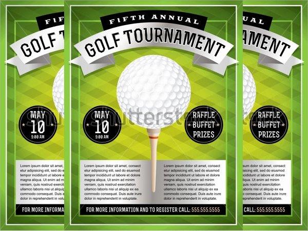 Golf tournament Flyers Template Luxury Golf tournament Flyer Template 24 Download In Vector