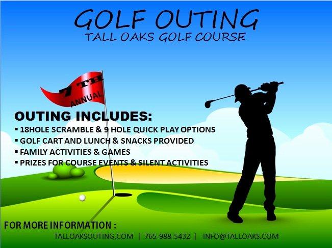 Golf tournament Flyers Template Luxury Golf tournament Flyer Template