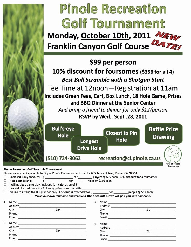 Golf tournament Fundraiser Flyer Lovely 26 Best Golf tournament Images On Pinterest
