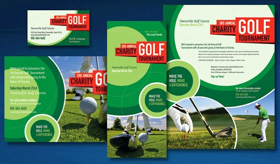 Golf tournament Fundraiser Flyer Lovely Drive Your Charity Golf tournament Marketing with Professional Graphic Design