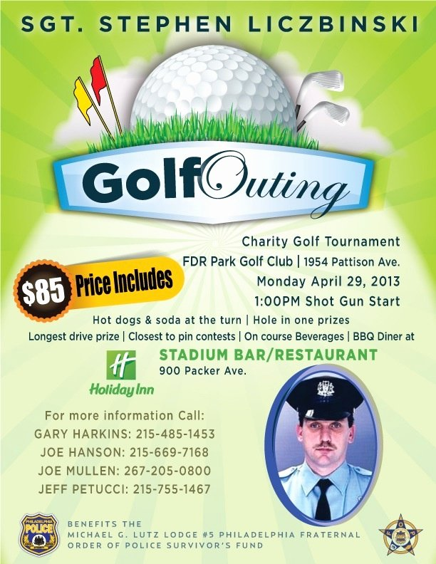 Golf tournament Fundraiser Flyer New Golf Outing Flyers Pinterest