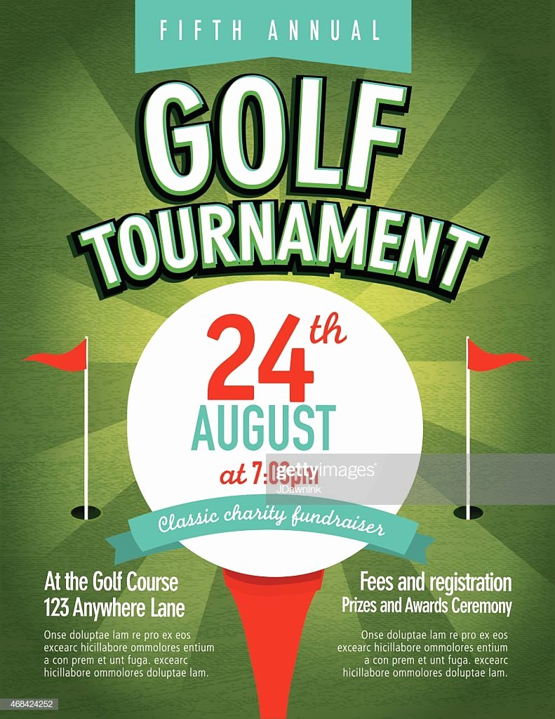 Golf tournament Invitation Template Free Beautiful Green Golf tournament Invitation Design Template Sunburst Vector Art