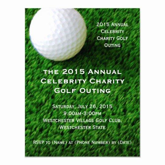 Golf tournament Invitation Template Free Elegant Golf Outing Invitations