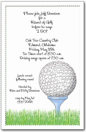 Golf tournament Invitation Template Free Luxury Golf Invitation Golf Ball & Tee Invitations Golf Outing Invitations Golfing