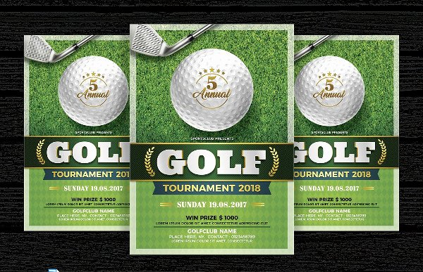 Golf tournament Invitation Template Free Unique 29 Invitation Flyer Templates Free & Premium Download