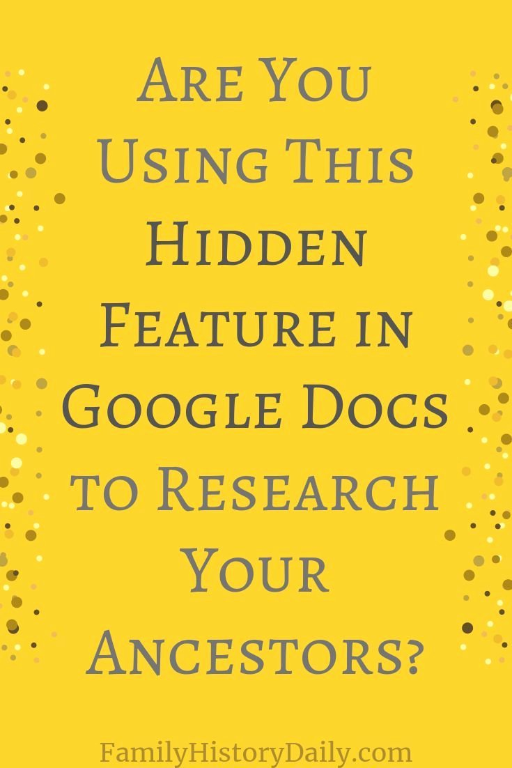 Google Docs Family Tree Fresh How Explore From Google Docs Can Help You Research Your Ancestors Family Tree