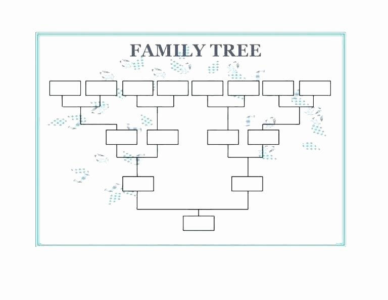 Google Docs Family Tree New Pedigree Template