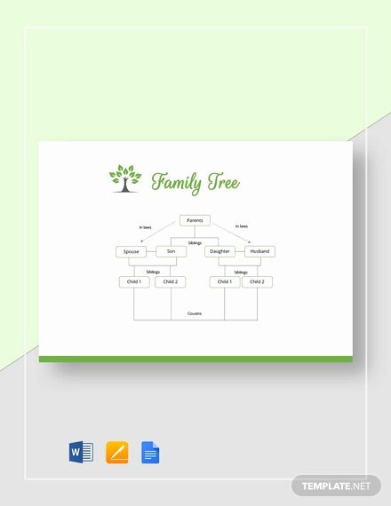 Google Docs Family Tree Unique 35 Family Tree Templates Word Pdf Psd Apple Pages