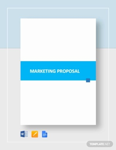 Google Docs Proposal Template Awesome 17 Marketing Proposal Templates Google Docs Indesign Word Pages Psd Publisher Pdf