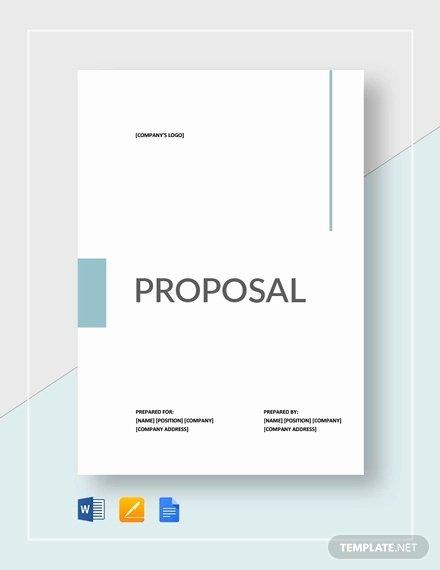 Google Docs Proposal Template Elegant 53 Simple Proposal Templates Word Pdf Google Docs
