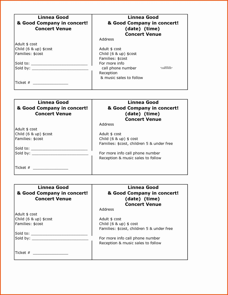 Google Docs Raffle Ticket Template Fresh Raffle Ticket Spreadsheet Printable Spreadshee Raffle