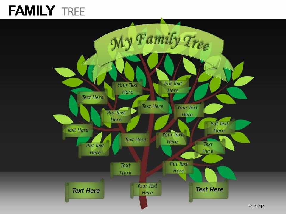Google Family Tree Template Awesome Family Tree Powerpoint Presentation Slides Db Presentation Powerpoint