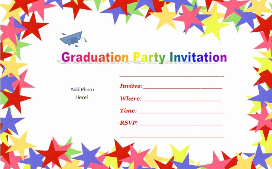 Graduation Invitation Templates Free Download Awesome 40 Free Graduation Invitation Templates Template Lab