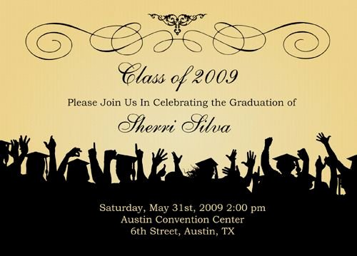 Graduation Invitation Templates Free Download Awesome Free Graduation Templates S