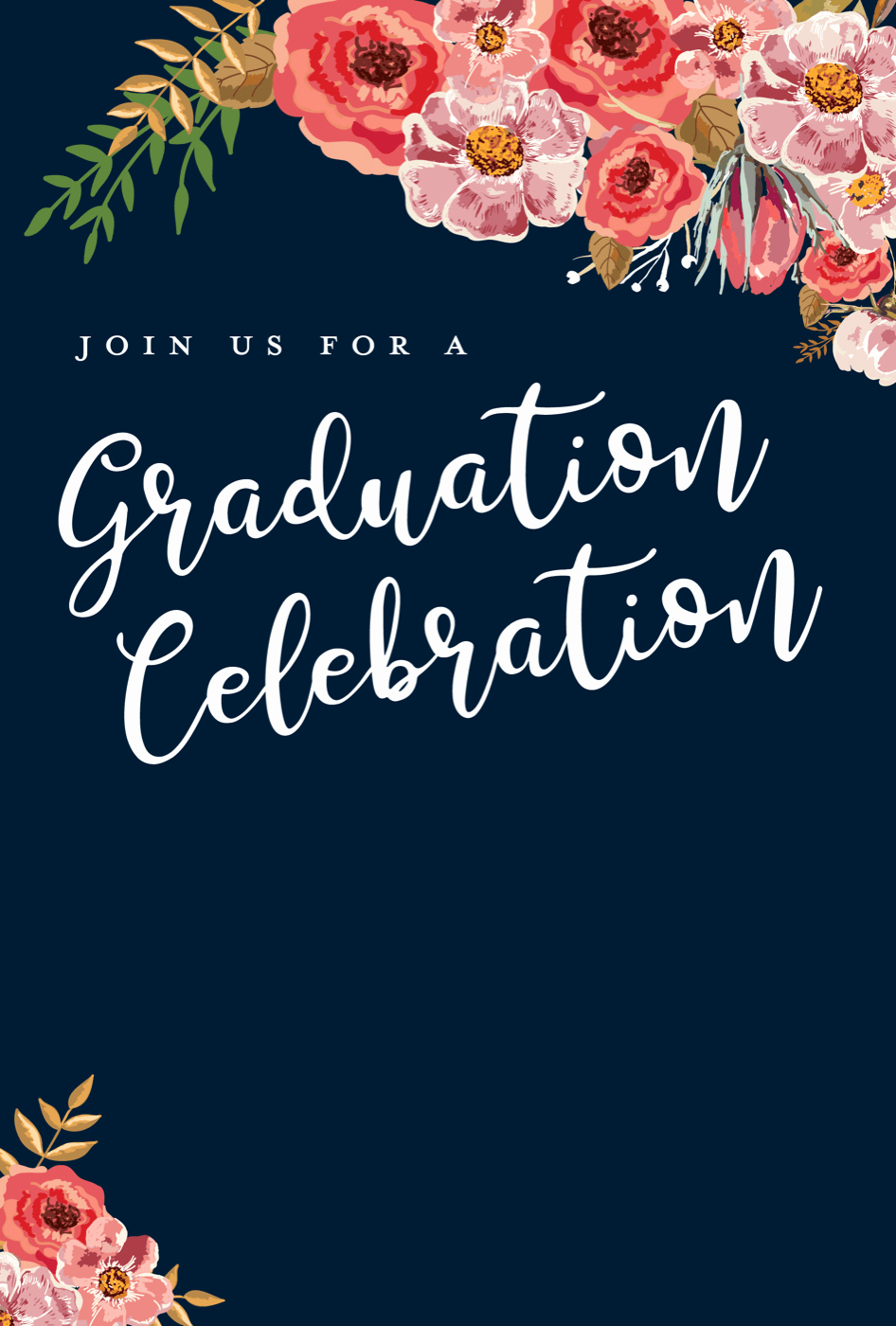 Graduation Invitation Templates Free Download New 5 Editable Graduation Party Invitation Templates Tips