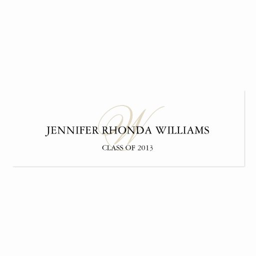 Graduation Name Card Template Awesome Blog Archives