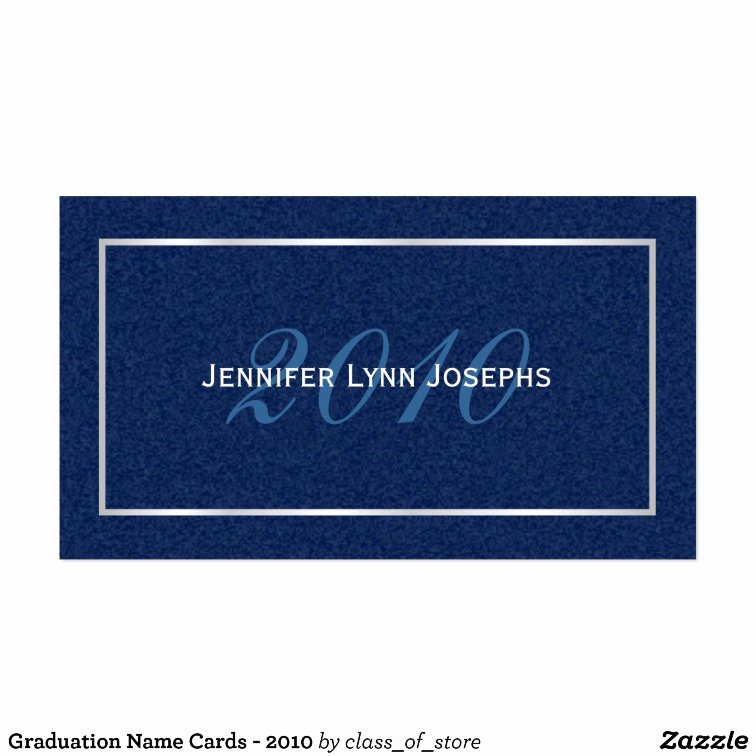Graduation Name Card Template Best Of Graduation Name Cards 2010