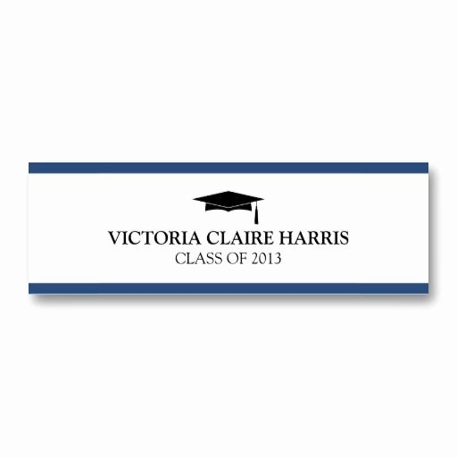 Graduation Name Card Template Luxury 20 Best Name Cards for Graduation Announcements Images On Pinterest