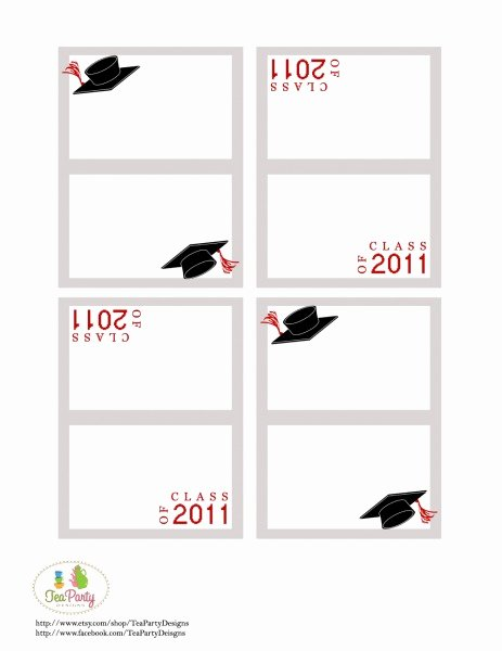 Graduation Name Card Template New 28 Of 2016 Graduation Template Free Printable Label