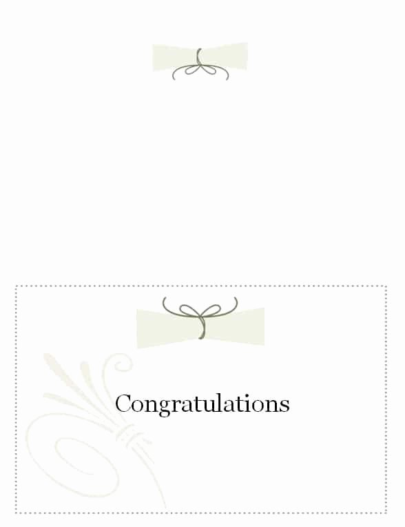graduation name card template