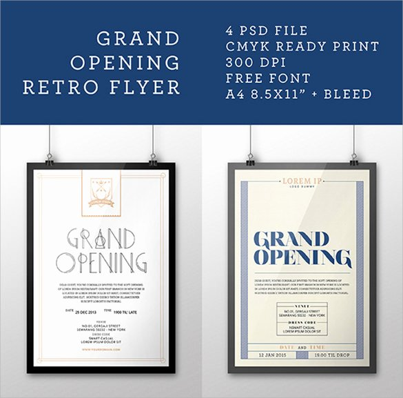 Grand Opening Flyer Template Awesome Grand Opening Flyer Templates 15 Download Documents In Vector Eps Psd