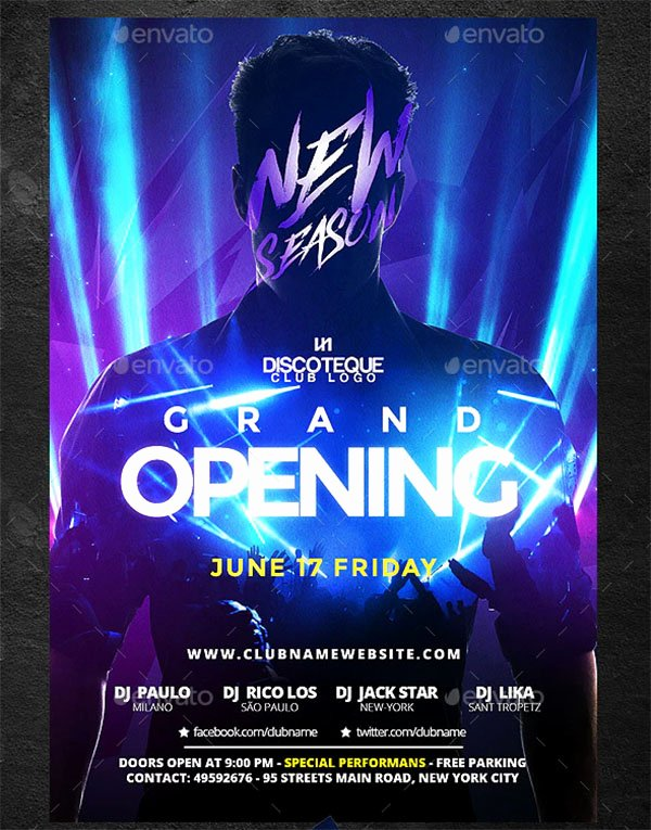 Grand Opening Flyer Template Free Beautiful 48 Grand Opening Flyer Templates Free & Premium Psd Downloads