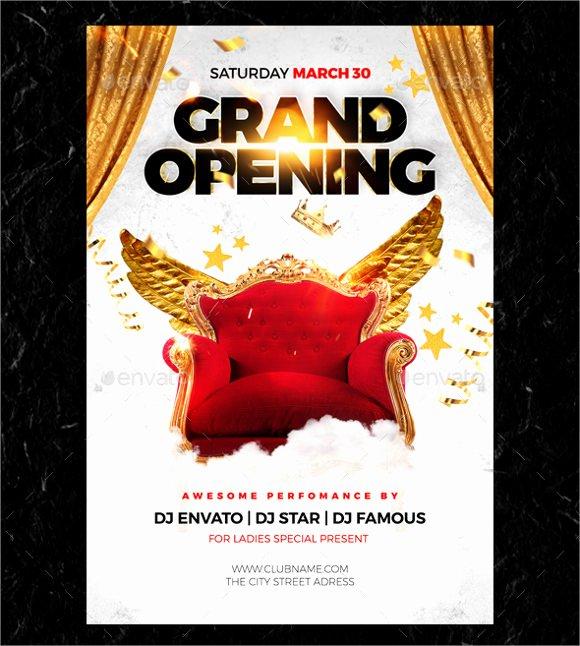 Grand Opening Flyer Template Free Elegant 28 Grand Opening Flyer Templates Psd Docs Pages Ai