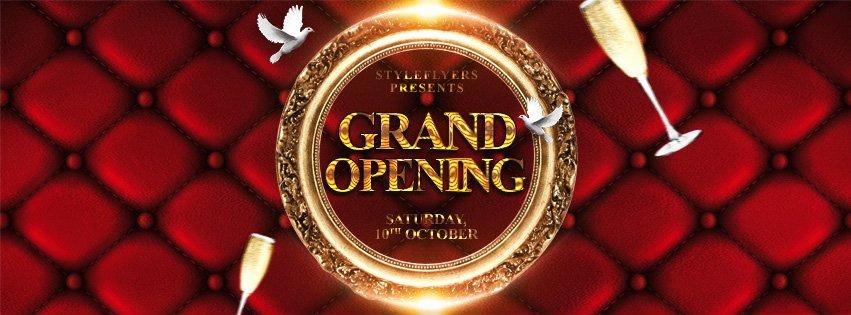 Grand Opening Flyer Template Free Elegant Grand Opening Free Psd Flyer Template Free Download Styleflyers
