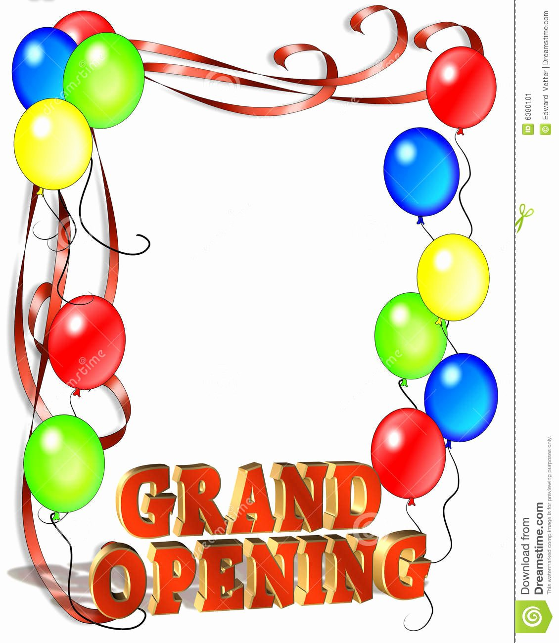 Grand Opening Flyer Template Free Unique Grand Opening Sign Template Stock Illustration Illustration Of Announcement Text
