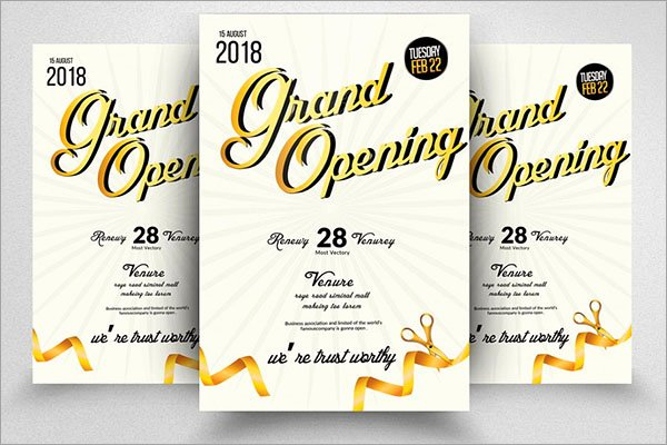 Grand Opening Flyer Template Lovely 48 Grand Opening Flyer Templates Free & Premium Psd Downloads