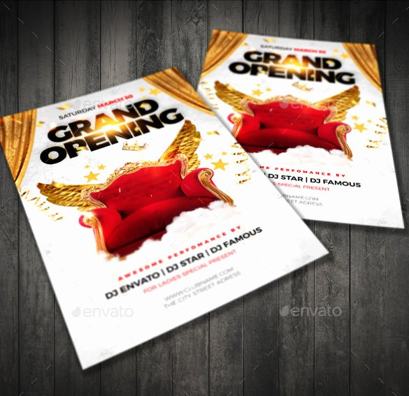 Grand Opening Flyer Template Unique Effective Flyer Marketing Campaign