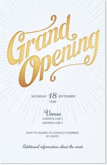 Grand Opening Invitation Template New 11 Best Grand Opening Invitation Images On Pinterest