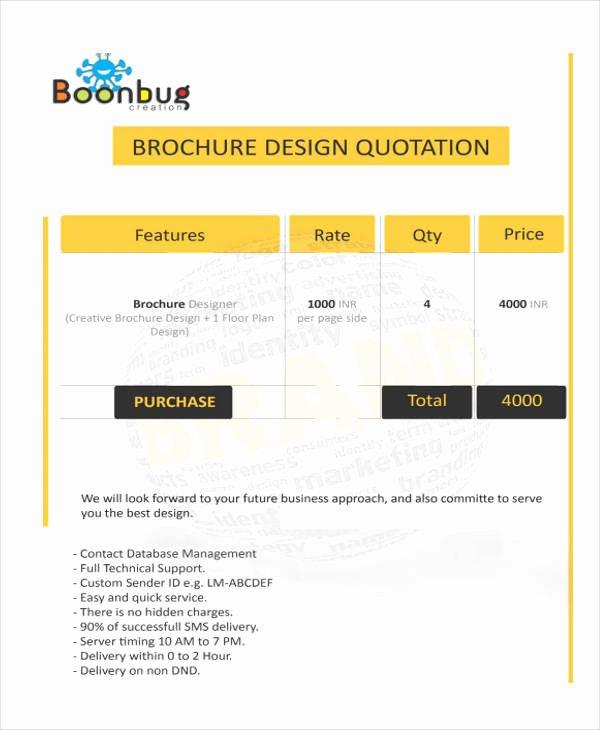 Graphic Design Quote Template Unique 10 Design Quotation Sample Templates Ai Pdf Google Docs Apple Pages
