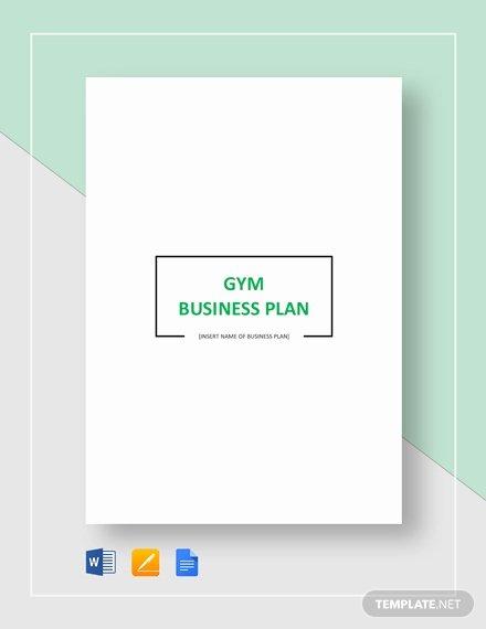 Gym Business Plan Pdf Luxury Gym Business Plan Template 16 Free Word Excel Pdf