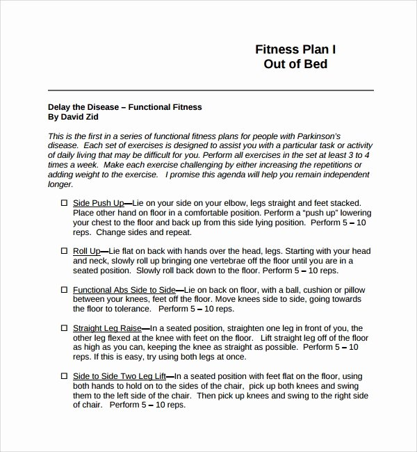Gym Business Plan Template Awesome Sample Fitness Plan Template 11 Free Documents In Pdf Word