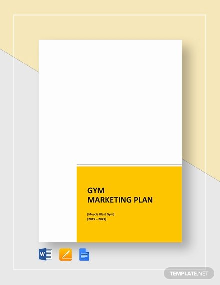 Gym Business Plan Template Beautiful Gym Business Plan Template 16 Free Word Excel Pdf format Download