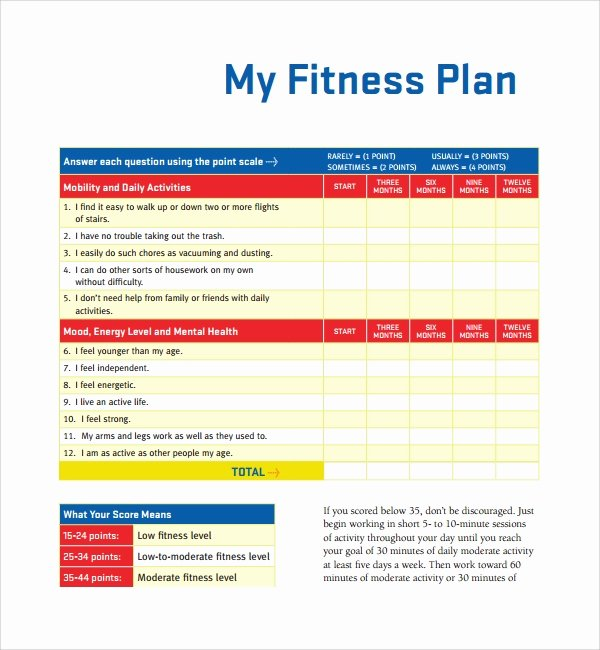 Gym Business Plan Template Elegant Sample Fitness Plan Template 11 Free Documents In Pdf Word
