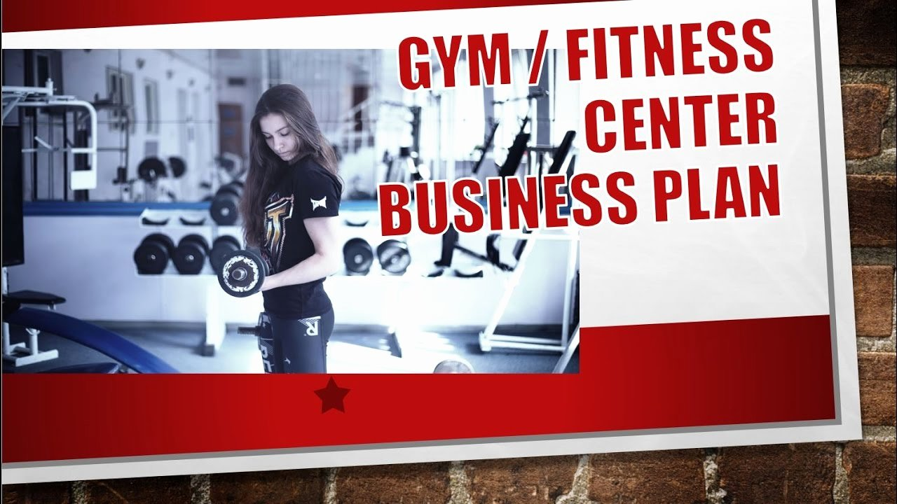 Gym Business Plan Template Luxury Gym Fitness Center Business Plan Template