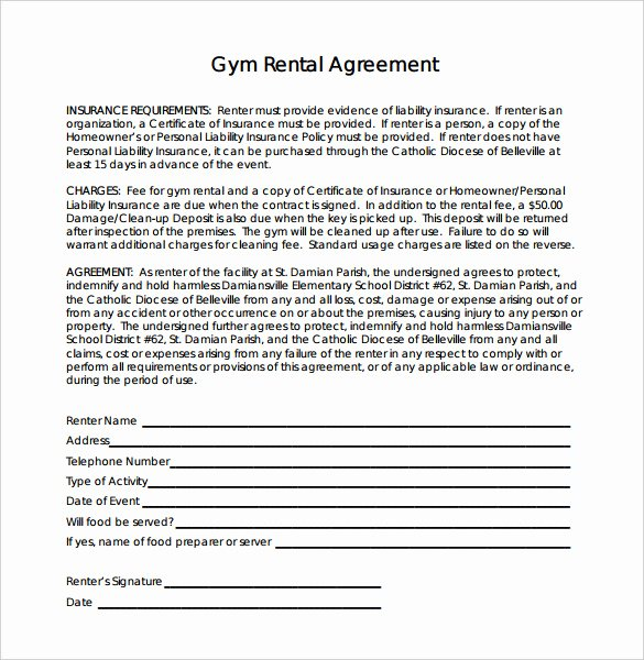 Gym Membership Contract Template New 15 Gym Contract Templates Word Google Docs Apple Pages