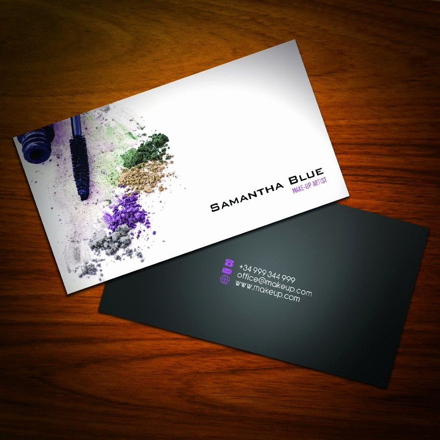 Hair and Makeup Business Cards Best Of Business Card Design for Freelance Makeup Artist Business Cards Pinterest