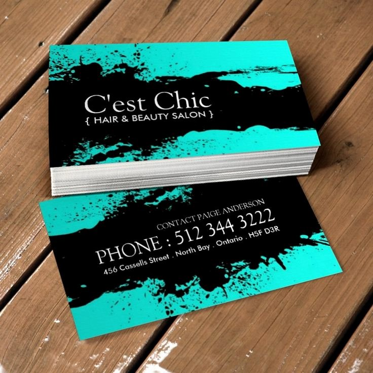Hair and Makeup Business Cards Inspirational 17 Best Images About Hair Salon Business Card Templates On Pinterest