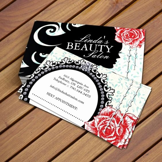Hair Salon Buisness Cards Awesome Fully Customizable Hair Salon Business Card Templates Created by Colourful Designs Inc