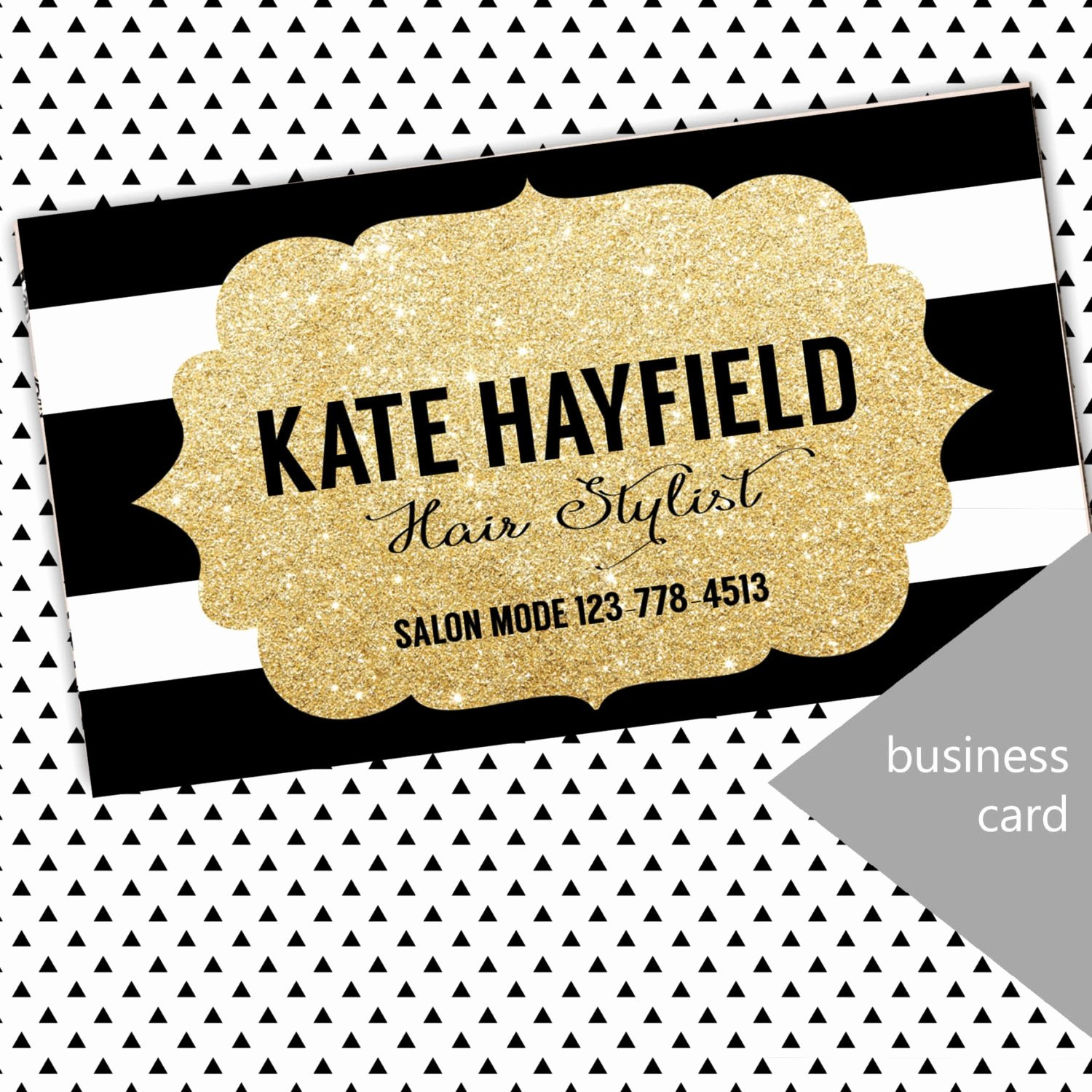Hair Salon Buisness Cards Awesome Hair Stylist Business Cards Boutique Business by Trendydownloads