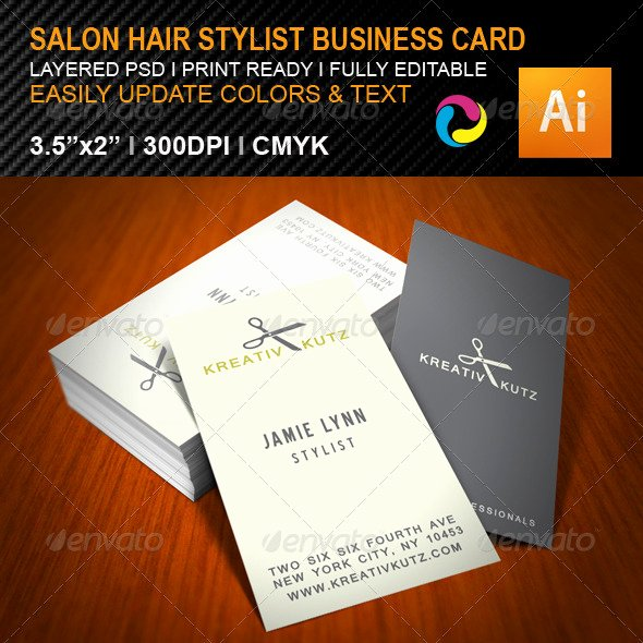 Hair Salon Buisness Cards Best Of 15 Hair Salon Business Card Psds