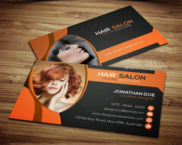 Hair Salon Buisness Cards Lovely 42 Hair Stylist Business Card Templates Ai Psd Word